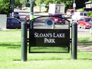 Sloan's Lake in Denver, CO