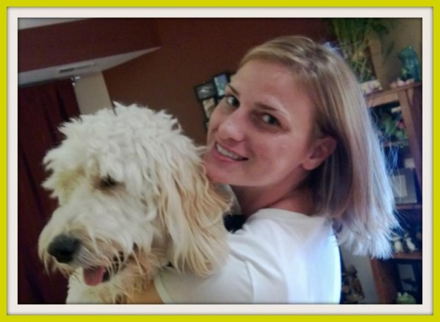Downers Grove pet sitting extraordinare, Meagan, with her pup, Lucy