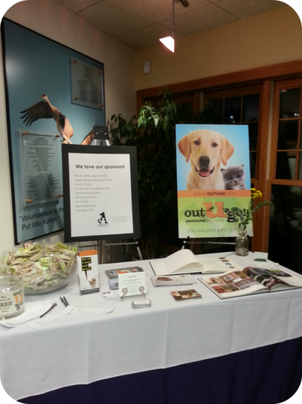 OUG! Madison Pet Care Dane County Humane Society Unleashed & Uncorked Pet Fundraiser Event