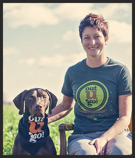 Out-U-Go! Madison's Lisa and her dog, Finn!