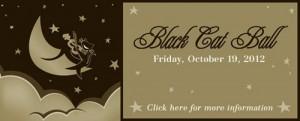 Naperville Area Humane Society Black Cat Ball Logo 2012