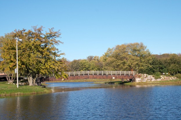 Through Vilas Park is one of our favorite dog walking routes in Madison WI